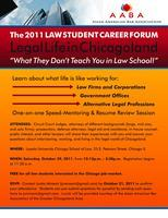 Annual Law Student Forum