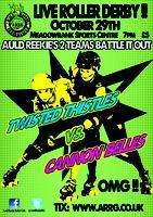 Auld Reekie Roller Girls Present: Twisted Thistles v...