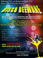 DISCO DEEWANE -  RED AND WHITE THEME VALENTINE'S DAY BASH!