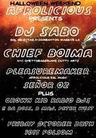 presents: DJ Sabo, Chief Boima, Afrolicious...