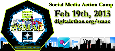 Social Media Action Camp #SMWsmac