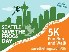 Seattle Save The Frogs Day 5K Fun Run and Walk