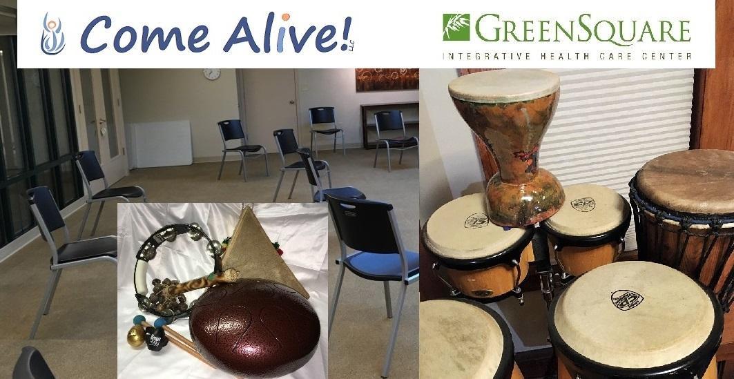 Community Drum Jam - 3rd Monday - COVID safe gathering - Feel the Rhythm!