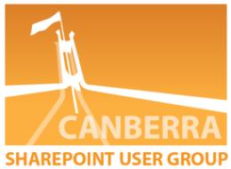 Canberra SharePoint User Group - October 2011