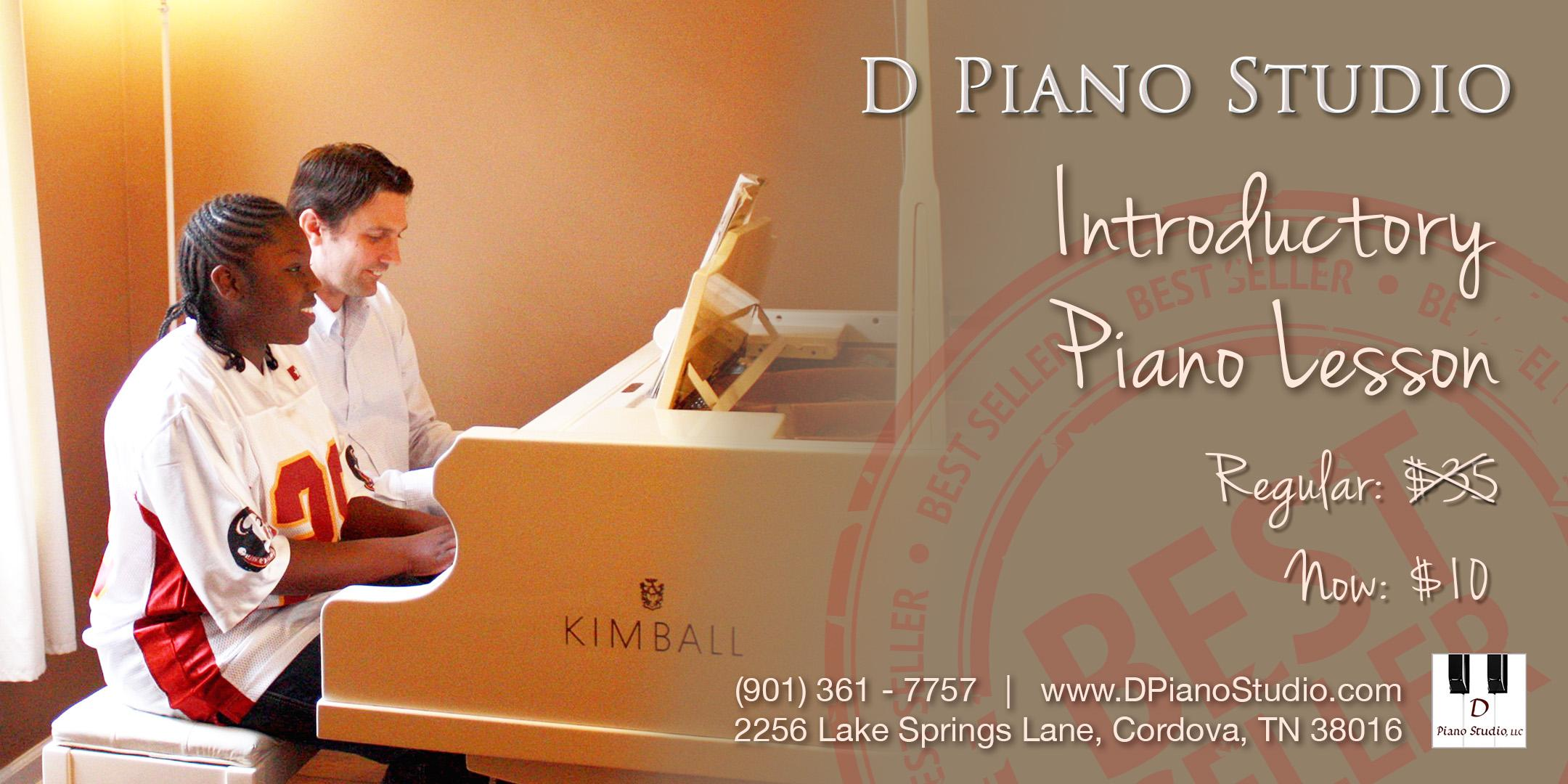 Cordova: Introductory Piano Lesson $10