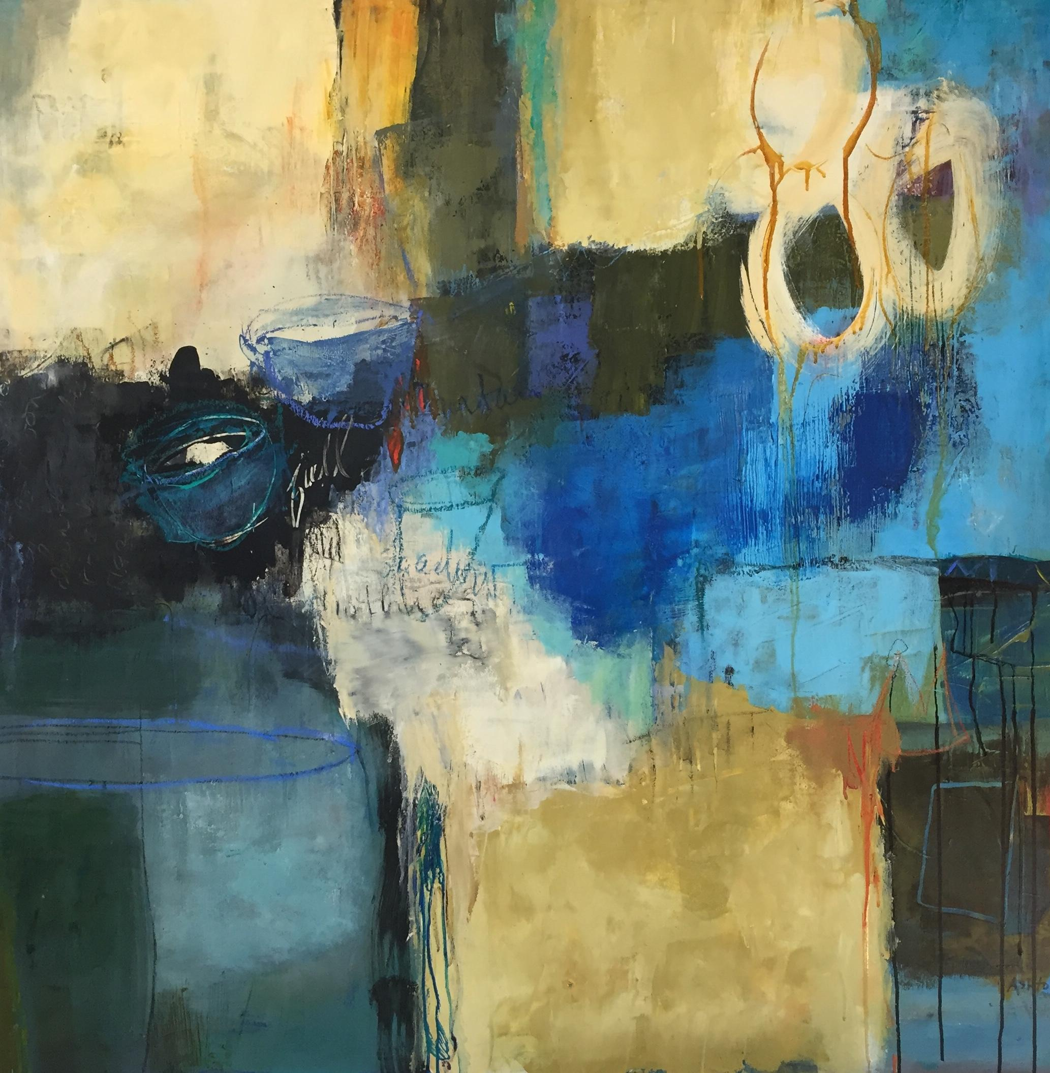 FRI AM - Advanced Abstract Acrylics with Kate Ashton