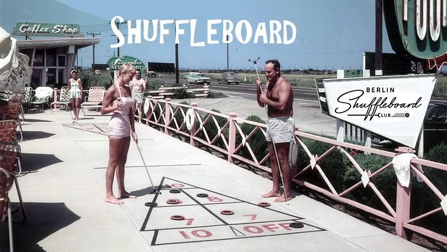 SHUFFLEBOARD Fun-Play-Action