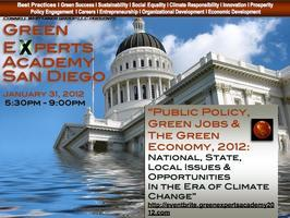 Green Experts Academy San Diego:  Public Policy, Green...