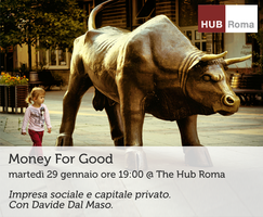 Money for Good con Davide Dal Maso