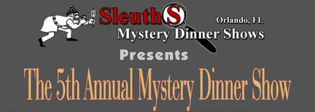 """Back to Nature's 5th Annual """"Sleuth's Mystery Dinner"""""""