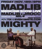 Medicine Show w/ Madlib & J Rocc