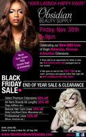 Obsidian Beauty Hair Launch Happy Hour!!!
