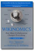 """Wikinomics"" by Dan Tapscott and Anthony Williams..."