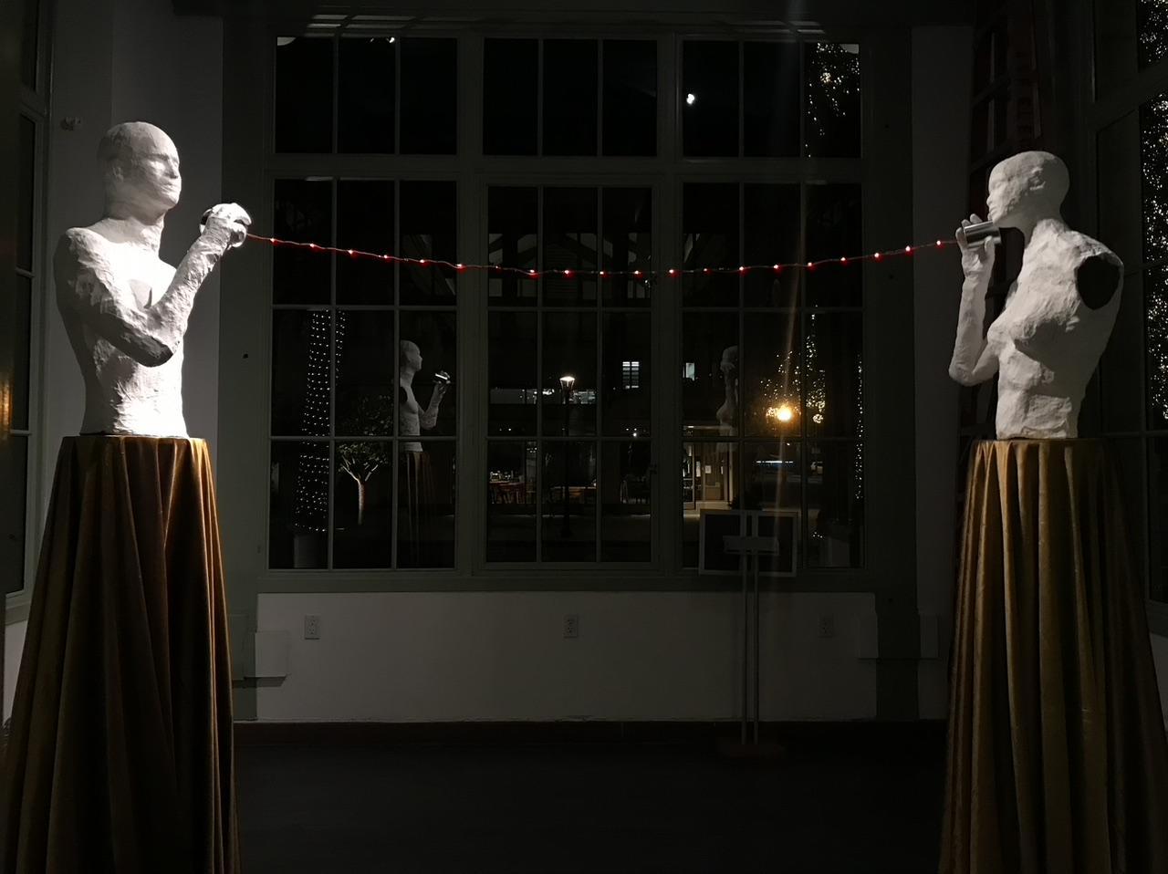 "Shiyao Lin's ""Whisper"" Art Kiosk Installation Comes to Redwood City's Court"