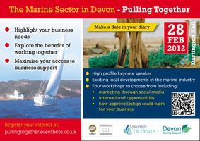 Pulling Together - The Marine Sector in Devon