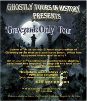 Concierge Graveyards Only!  New Bus Tour