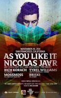 As You Like It w/Nicolas Jaar LIVE