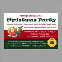 Sandy's Land Presents a Christmas Party with Sweets,...