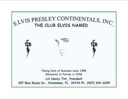 Elvis Presley Continentals Annual Halloween Party