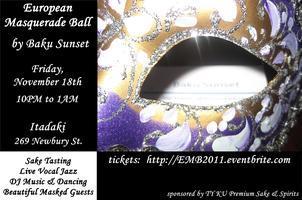 European Masquerade Ball by Baku Sunset
