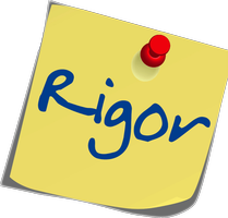 WHAT'S THE BIG IDEA: Rigor Logo