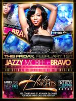 Jazzy Mcbee of streetz 94.5 and Bravo Birthday...