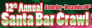 12th Annual Santa Bar Crawl