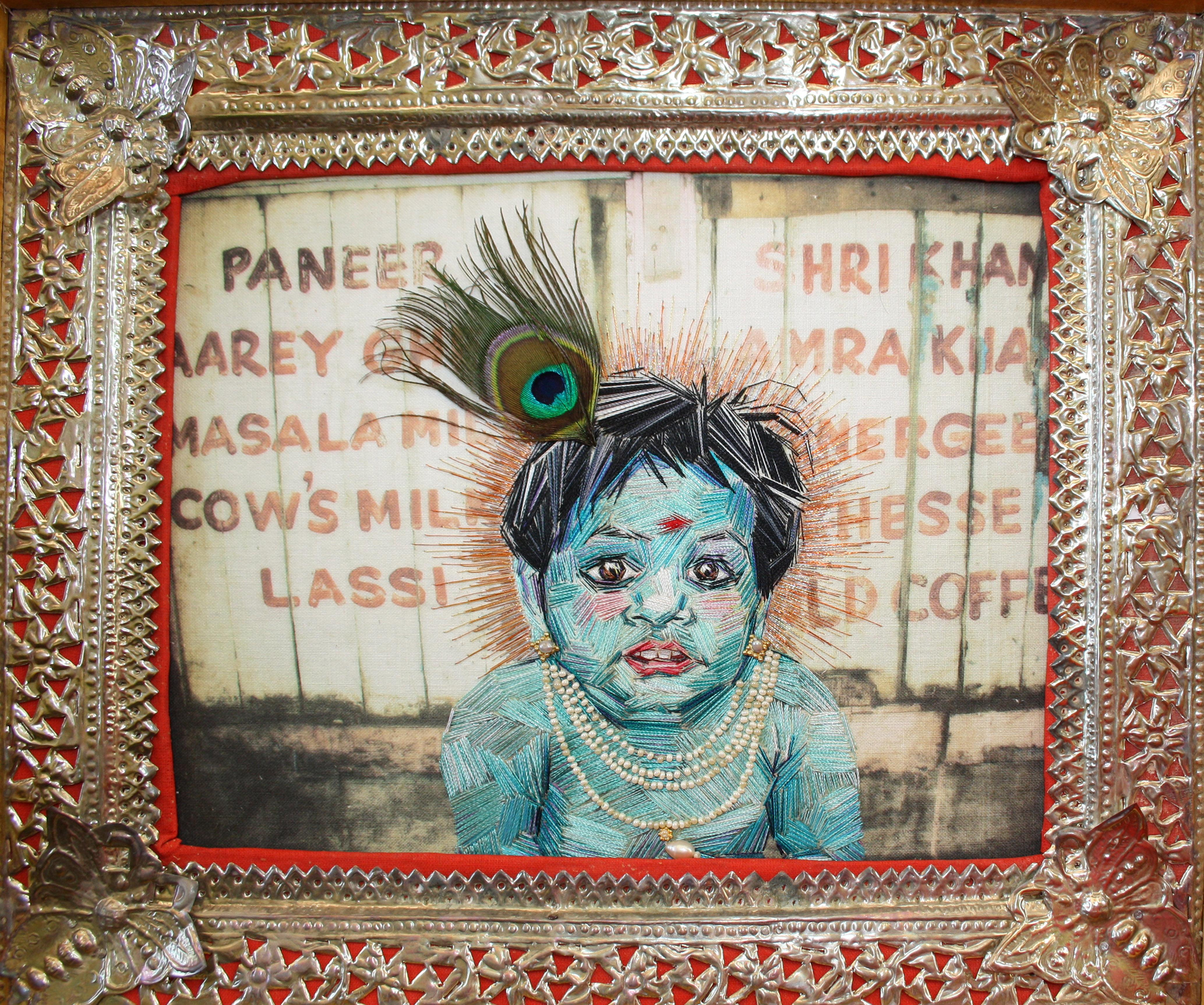 Embroider a Portrait, Make a Puppet, Articulate a Story with Susie Vickery.