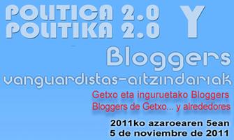 III Encuentro GetxoBlog - Política 2.0 y Bloggers
