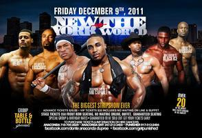 NEW YORK VS THE WORLD BROOKLYN MALE STRIP OFF AT THE...