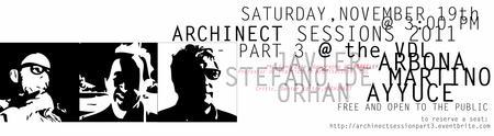ARCHINECT SESSIONS @ THE VDL: PART 3, STEFANO DE...