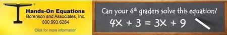 Hands-On Equations Verbal Problem Introductory Webinar...