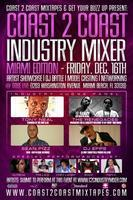 Coast 2 Coast Music Industry Mixer | Miami 12/16 Sobe...