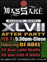 Mas Sake Super Bowl After Party