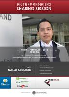 Sharing Session with NATALI ARDIANTO (Small Group of...