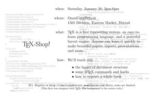 (La)TeX-Shop!