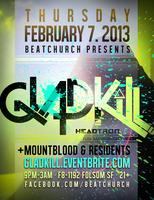 GLADKILL returns to BEAT CHURCH w/ MOUNTBLOOD, & Beat...