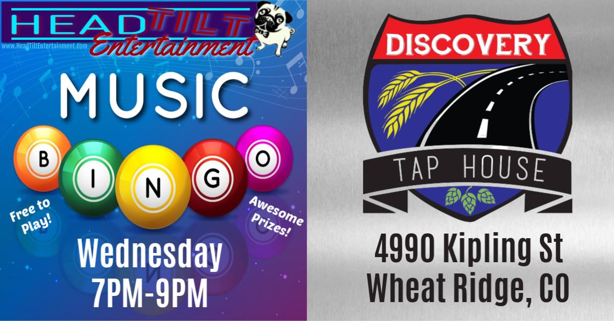 Music Bingo at Discovery Tap House- Wheat Ridge, CO