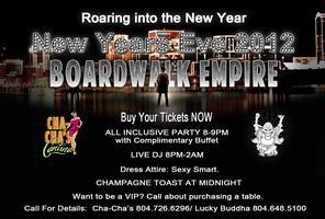 BOARDWALK EMPIRE NEW YEARS EVE 2012:   Cha Cha's...
