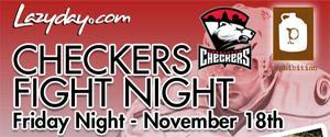 LZYVIP Checkers Fight Night