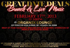 Wrap up your Valentine's Weekend with Brunch and Soulful...