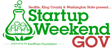 Startup Weekend GOV: Seattle 4/27