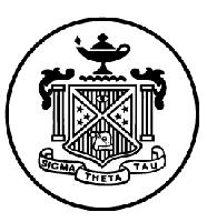 Sigma Theta Tau Theta Epsilon Chapter...