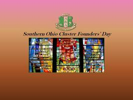 2013 Southern Ohio Cluster Founders' Day Observance
