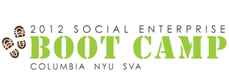 Social Enterprise Boot Camp 2012