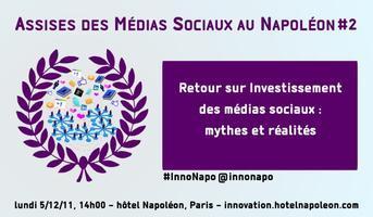 Assises des Médias Sociaux au Napoléon #2 : 5/12/11,...