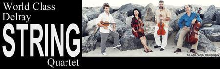 Delray String Quarter with guest clarinetist Paul Green