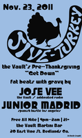 the Vault's Pre-Thanksgiving Holiday Jam 11/23/11