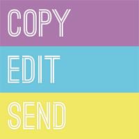Copy Edit Send