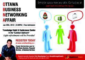 The Ottawa Business Networking Affair